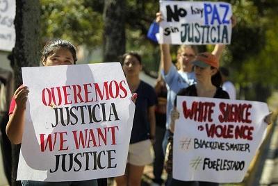 Siguen las protestas contra la Policía de EE.UU. mientras se prepara una gran marcha