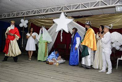 """Espíritu navideño tuvo su """"Noche Blanca"""""""