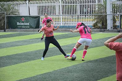Realizan torneo confraternidad en Fútbol Aventura