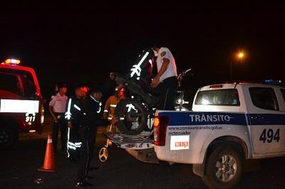 Joven manabita muere tras accidente en Santo Domingo