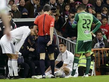 El colombiano James Rodríguez tiene una lesión en el gemelo derecho