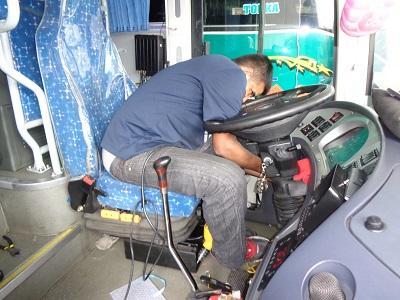 Instalan cámaras en buses provinciales