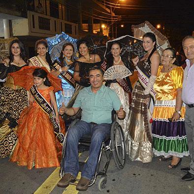 Baile y trajes típicos se mostraron en verbena de la parroquia San Antonio