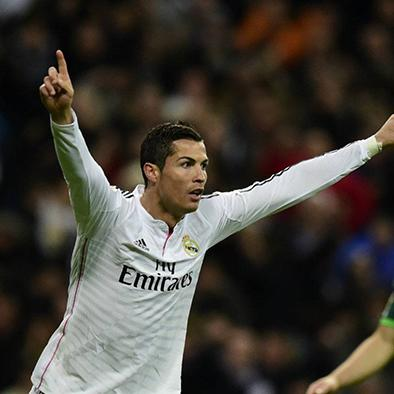 "Cristiano marca un récord de ""hat-trick"""
