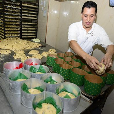 El pan de pascua, un producto que enamora