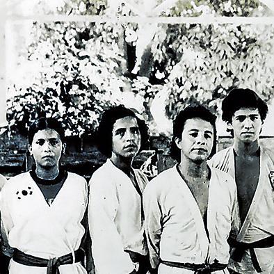 Llevan 44 años En el taekwondo
