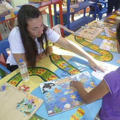 Niños disfrutan del Décimo Festival del Juego