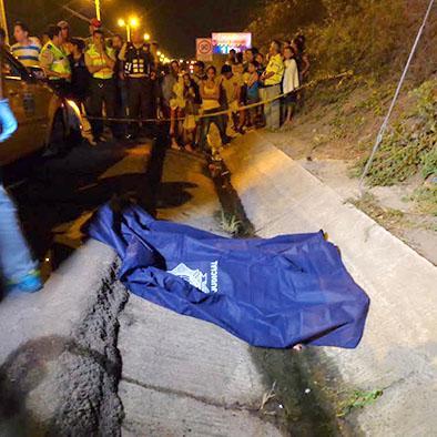 Un accidente de tránsito en la vía Circunvalación deja una víctima mortal