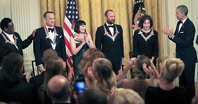 Tom Hanks, Sting y Al Green, galardonados con los premios del Centro Kennedy
