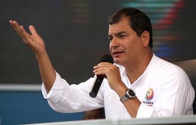 Correa dice que Quito 'siempre' ha sido una ciudad maravilla pese a resultado