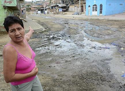 Contaminación por aguas servidas