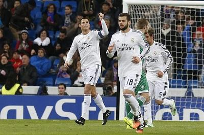 Real Madrid goleó 4-0 Ludogorets