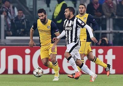 Juventus empató 0-0 ante el Atlético de Madrid