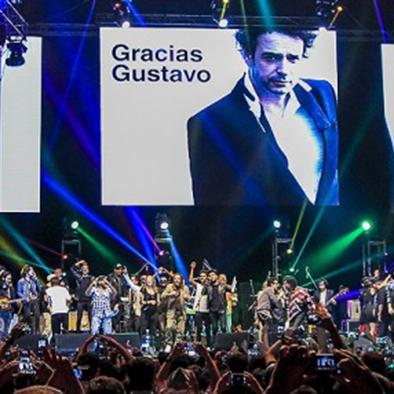 Artistas le rindieron  tributo a Gustavo Cerati