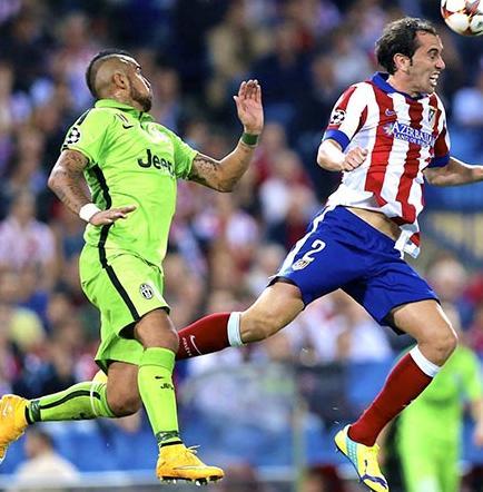 Atlético de Madrid mide hoy a Juventus