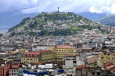 Correa califica a Quito de una ciudad maravilla