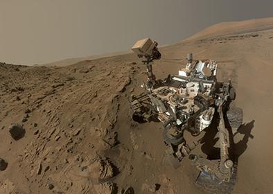 El Curiosity consigue más pruebas de que  hubo un lago en Marte
