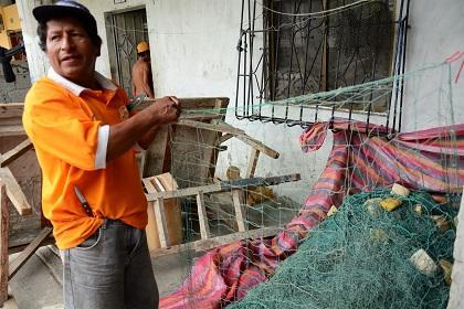 Moradores de la calle Primero de Enero están dedicados a la pesca