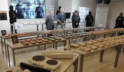 Decomisan 408 kilos de cocaína y una avioneta en tres operaciones en Bolivia