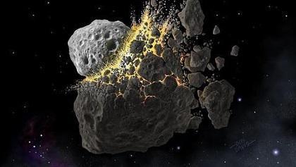 Los asteroides podrían ser la reserva original del agua de la Tierra