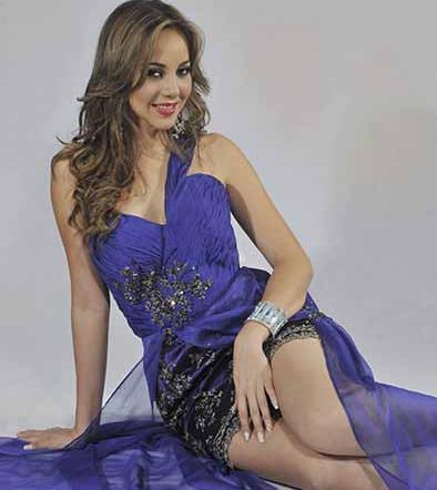 Karen Paredes en el Miss Tourism World