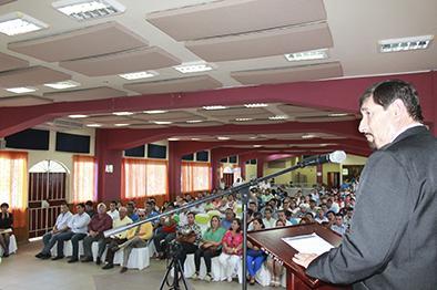Presidente de la FDM informó sobre deportes, economía e infraestructura