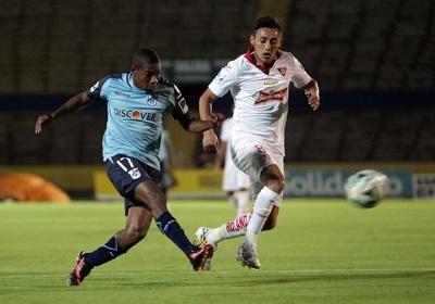 Liga de Quito perdió en casa ante la Universidad Católica, por 1-2