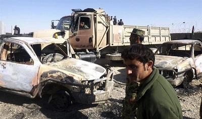 Siete muertos, entre ellos un bebé, al ser tiroteado un coche en Afganistán