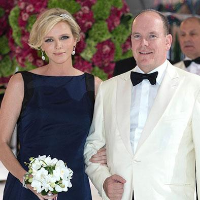 Los príncipes Alberto y Charlene ya son padres