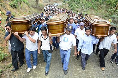 Luto en García Moreno