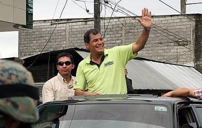 La Concordia se prepara para recibir al presidente Rafael Correa