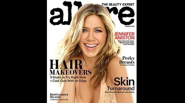 Jennifer Aniston se desnuda en su última película -