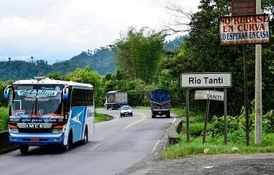 Finalizan trabajos en la vía Alóag-Santo Domingo y está habilitada
