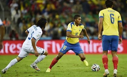 Ecuador se ubica en el puesto 26 del  ranking de la FIFA