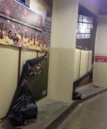 Jugadores de Emelec habrían destruido gigantografías de Barcelona, según jefe de prensa