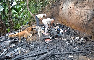Incendio deja en la calle a una familia santodomingueña