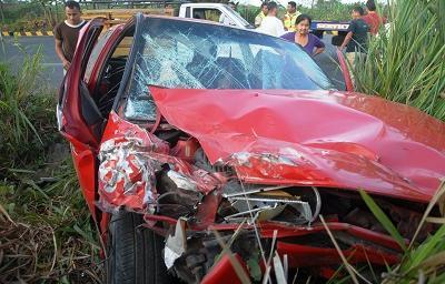 Accidente de tránsito deja cuatro heridos