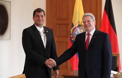Alemania espera que Ecuador le informe oficialmente de ruptura de la cooperación
