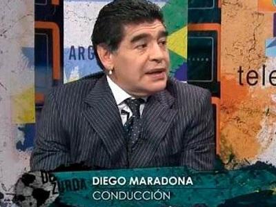 70457fb4e Diego Maradona grabará programa de televisión en Cuba | El Diario ...