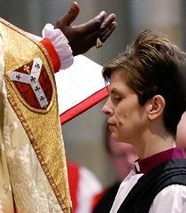 La Iglesia de Inglaterra consagra a la primera obispa de su historia