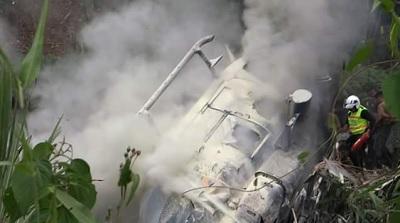Cuarto helicóptero Dhruv se accidenta en Napo y deja al menos dos heridos
