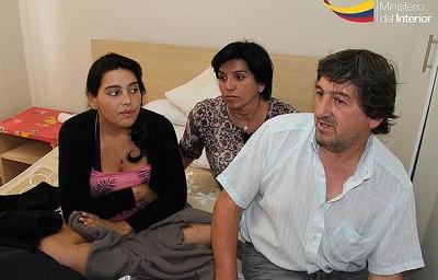 Joven argentina que fue atropellada en Portoviejo ya salió del hospital (VIDEO)