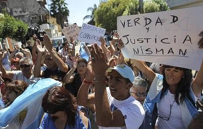 Gobierno argentino rechaza investigación internacional por el caso Nisman