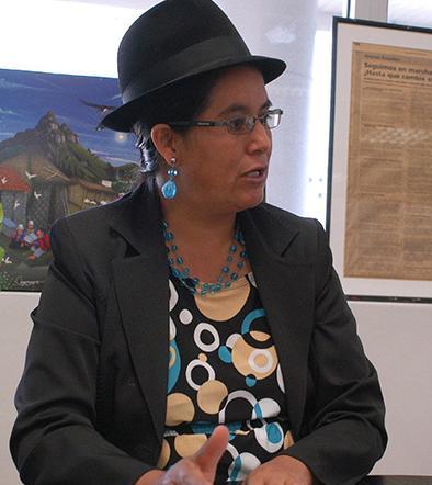 Lourdes Tibán se casa invita a todo el país