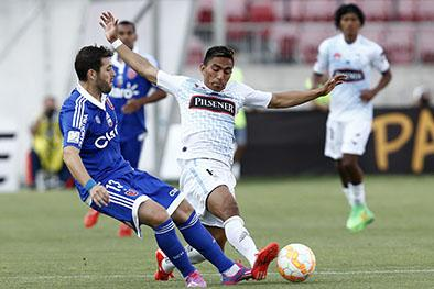 Emelec derrota 1-0  a U. Católica de Chile