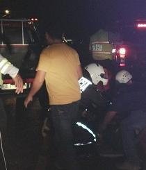 Accidente de tránsito deja dos heridos