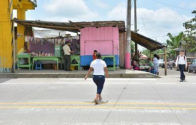 Parque central del recinto Las Delicias se encuentra en mal estado, según moradores