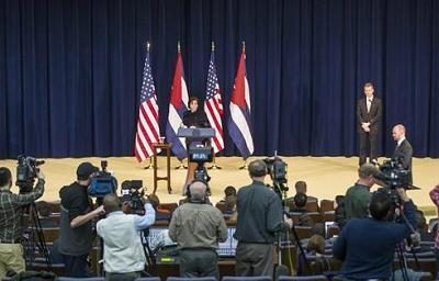 Estados Unidos y Cuba están en una suave aproximación