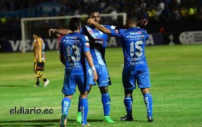 Triunfo de Emelec ante Inter de Porto Alegre lo llevaría a octavos de Copa Libertadores