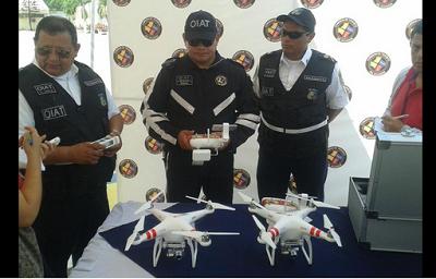 Ecuador utilizará drones para investigar accidentes de tránsito